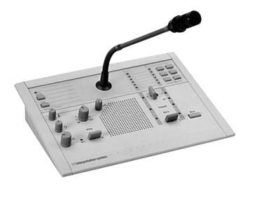Bàn phiên dịch 6 kênh & tai nghe LBB3222/04 + HDP-HQ